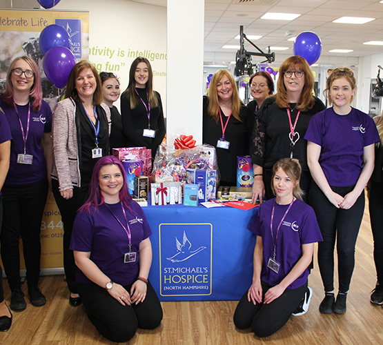 BCoT students raise £500 for St. Michael's Hospice
