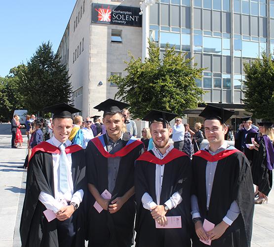 Students Celebrate Success At Graduation Ceremony