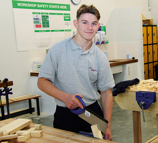 BCoT apprentice praised in House of Commons