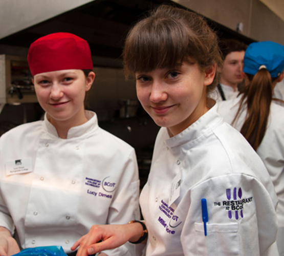 Catering students serve up a taste of Asia