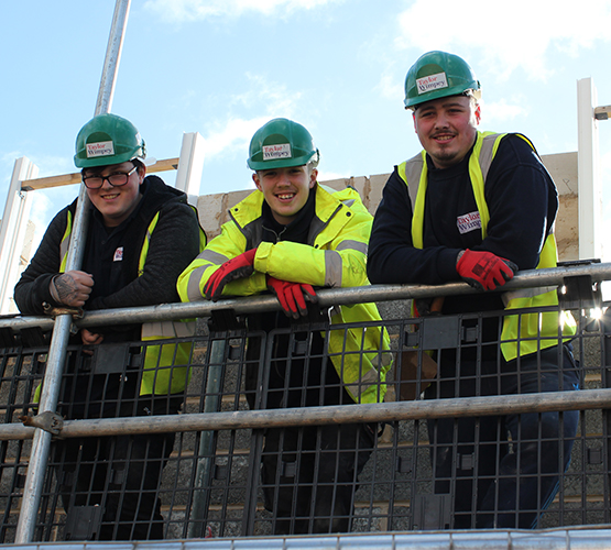 New apprenticeships at Future Skills Centre offer young people a chance to be part of the town that builds itsel