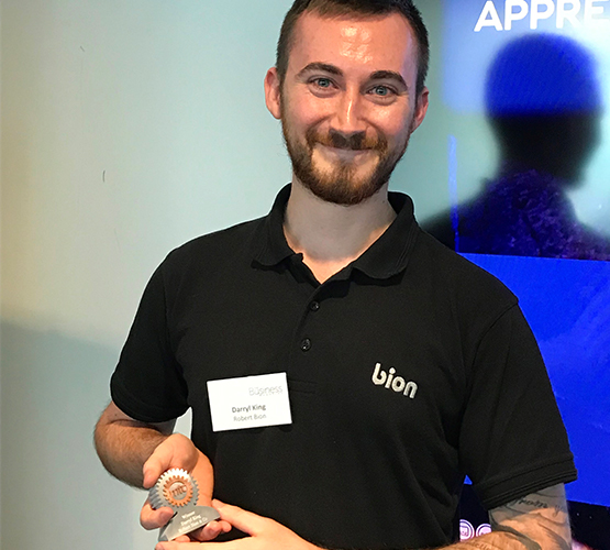 BCoT apprentice named Apprentice of the Year