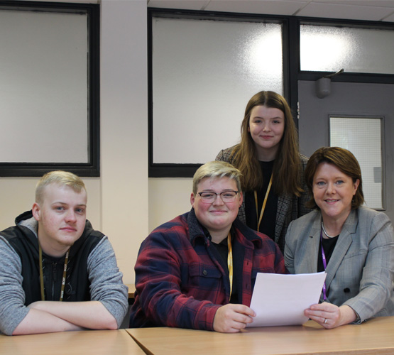 College visited by local MP