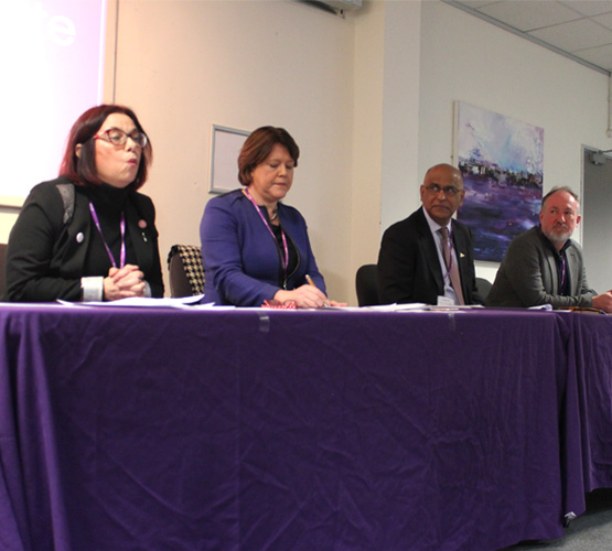 Basingstoke's local MP candidates at Q&A session
