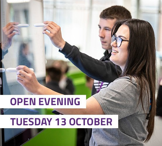 Open Evening Tuesday 13 October