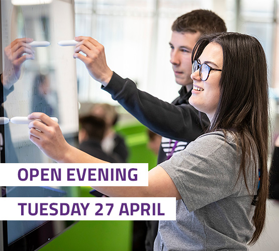 Open Evening Tuesday 27 April