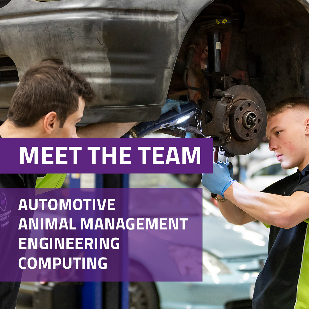 Meet the team: Automotive, Animal Management, Engineering and Computing